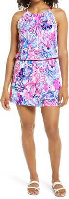 Lilly Pulitzer Gianni Make a Splash Skort Romper