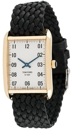 Tom Ford Watches 001 Rectangular 30mm