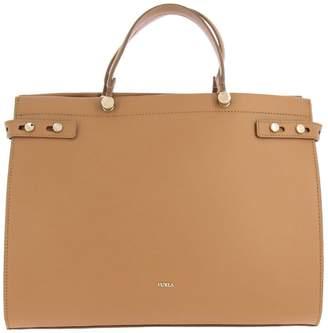 Furla Handbag Lady Leather Tote Bag With Logo