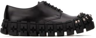 Prada Studded Chunky Sole Lace-Up Shoes