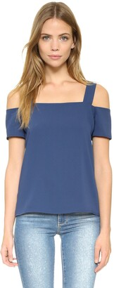 Cooper & Ella Women's Ava Cold-Shoulder Top