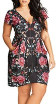 City Chic Plus Size Women's Sweet Tapestry Tunic