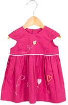 Catimini Girls' Floral A-Line Dress