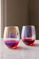 Urban Outfitters Luster Stemless Glasses Set