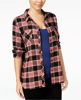 Volcom Juniors' Plaid Shirt