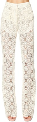 Redemption Flared Macrame Lace Pants