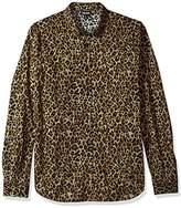 Just Cavalli Men's Wild Print Shirt