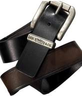 Levi's Boys Reversible Synthetic Leather Belt Brown and Black X-Large 34-36