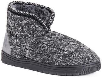 Muk Luks Men's Mark Bootie Slippers