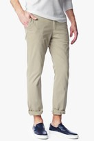 7 For All Mankind Luxe Performance Sateen The Chino In Light Khaki