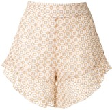 Olympiah Orchid patterned shorts