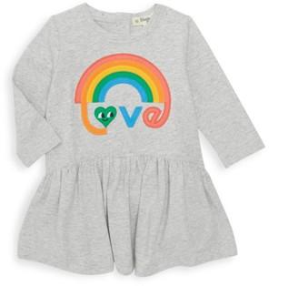 The Bonnie Mob Baby Girl's Rainbow Applique Dress