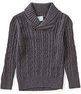 Class Club Little Boys 2T-7 Shawl-Collar Sweater