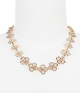 Anne Klein Open Metal Collar Necklace