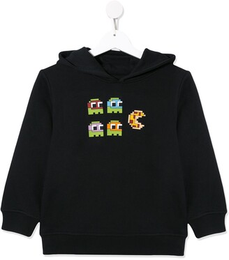 Mostly Heard Rarely Seen 8 Bit Pacman pizza hoodie