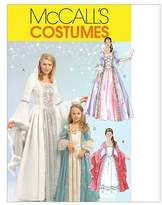 Mccall's M5731 Misses'/Children's/Girls' Princess Costumes, Size MISS (SML-MED-LRG-XLG) by