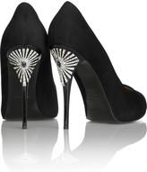 Giuseppe Zanotti Embellished heel pumps