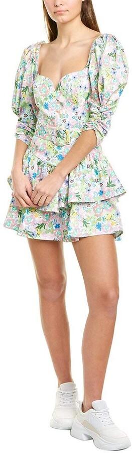For Love & Lemons Women's Jardine Mini Dress Cocktail
