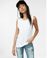 Express crew neck muscle tank