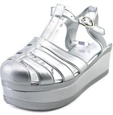 Wanted Jellypop Open Toe Synthetic Platform Sandal.