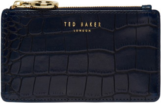 Ted Baker Rullia Croc Embossed Leather Card Holder