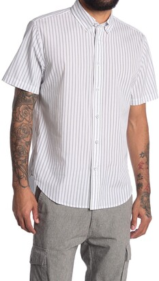 Rag & Bone Fit 2 Tomlin Short Sleeve Poplin Shirt