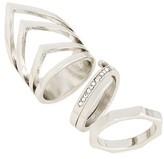 Topshop Women's Set Of 3 Rings