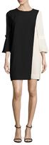BCBGMAXAZRIA Loren Colorblocked Shift Dress