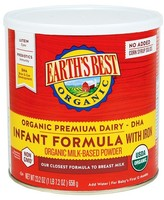 Earth Earth's Best Organic Infant Formula with Iron 23.2 oz