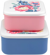 Cath Kidston Windflower Bunch Set of 2 Lunch Boxes Rose