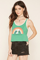 Forever 21 Peanuts Graphic Tank Top