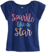 Epic Threads Mix and Match Sparkle Graphic-Print T-Shirt, Toddler & Little Girls (2T-6X), Only at Macy's