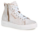 Blackstone Women's 'Ll78' Crackled High Top Platform Sneaker