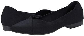 Mia Jennette (Black Fly Knit) Women's Shoes