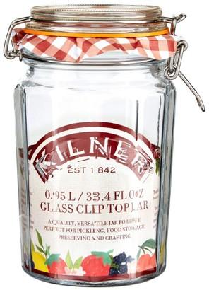 Kilner Facetted Clip Top Jar (0.95L)