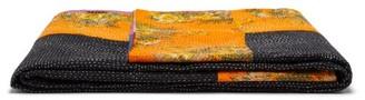 Ashish Rainbow Stripe Applique Blanket - Multi