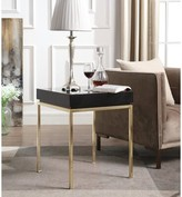 Everly Laforest End Table Quinn Table Top Color: Black