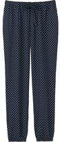 Uniqlo Women Drape Pants (Flower Dot)