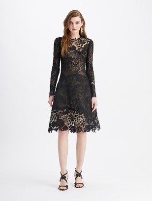 Oscar de la Renta Lace Cocktail dress