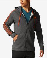 adidas Men's Essentials Cotton Fleece Full-Zip Hoodie