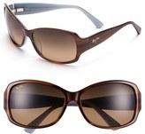 Maui Jim Women's 'Nalani' 61Mm Sunglasses - Dark Tortoise