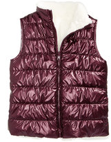 Epic Threads Reversible Faux-Fur Puff Vest, Big Girls (7-16), Created for Macy's
