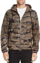 Diesel L-Melver Leather Hooded Regular Fit Jacket