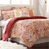 Asstd National Brand Paisley 6-pc. Cotton Reversible Comforter Set