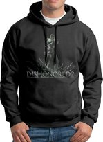 QKBABY Action Adventure Game Dishonored 2 Logo Men's Hoody S