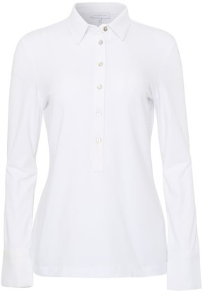 Silver Pink White Jersey Shirt