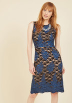 Elegant All Over Lace Dress in 6