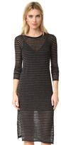 Stateside Stripe Long Sleeve Dress