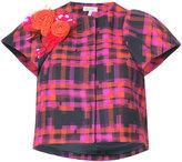 DELPOZO printed floral jacket - women - Cotton - 36