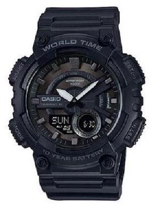 Casio Men's Black-Out Analog-Digital Watch